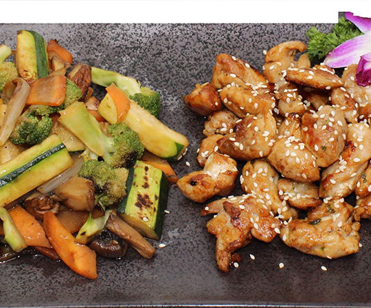 Sushi Kaiten Poulet-teppanyaki