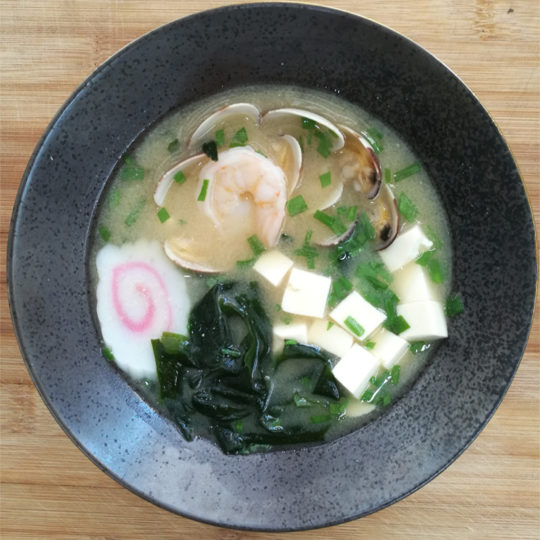 Sushi Kaiten soupe miso